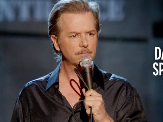 The Two Kinds of Guys Who Go to a Strip Club – David Spade