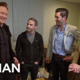 Conan Asks The Property Brothers To Renovate Jordan Schlanskys Office – CONAN on TBS