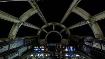 Heres a Millennium Falcon Cockpit Virtual Background video that I made for Zoom Conferencing.